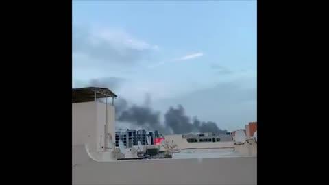 UAE: A Huge Fire Erupted in Dubai creek - Spectee