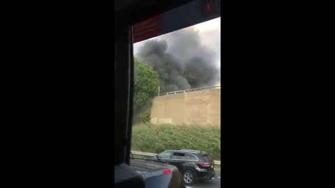 US: Truck on Fire Caused NJ Turnpike Shuts Down in Carteret